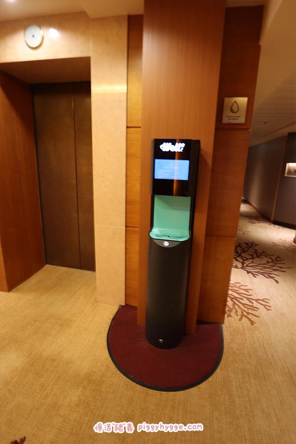 黃金海岸酒店自助水機