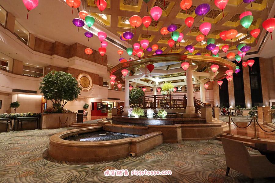 黃金海岸酒店中式中庭