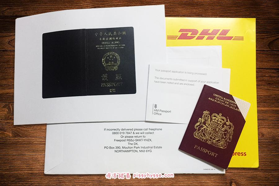 舊BNO護照及曾遞交的証明文件