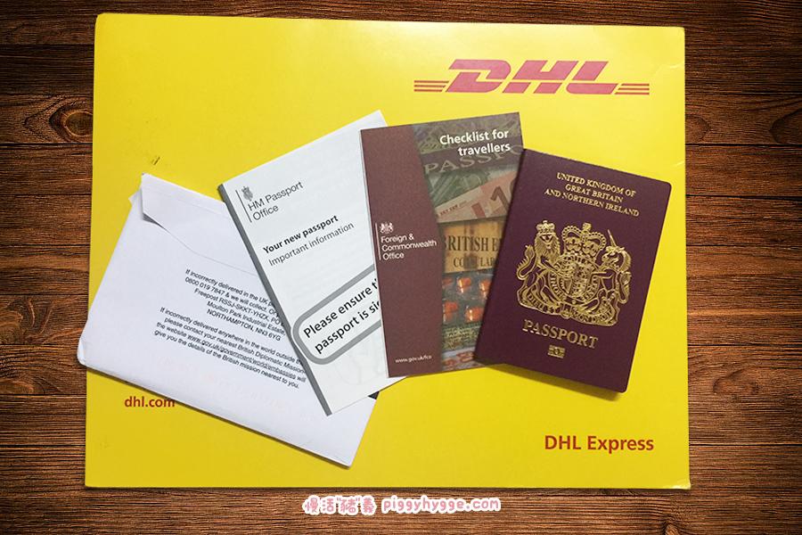 新BNO護照及指引單張