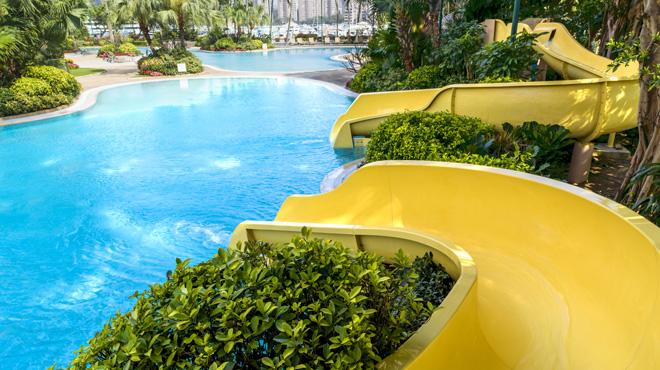 香港黃金海岸酒店滑水梯