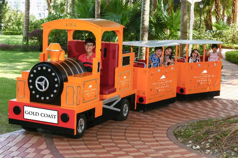 香港黃金海岸酒店兒童小火車