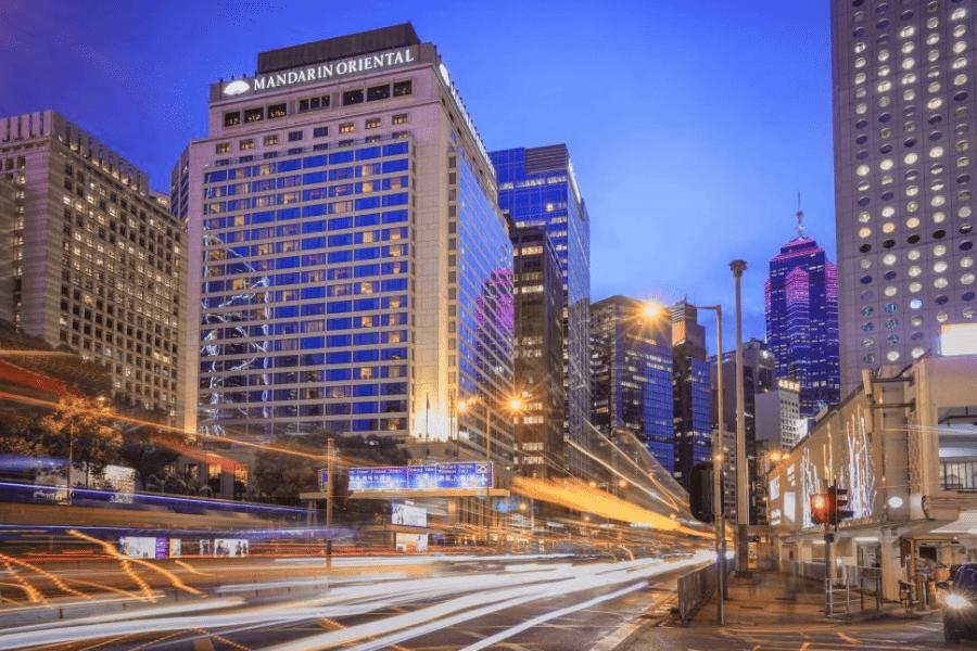 香港文華東方酒店是香港五星級高級酒店