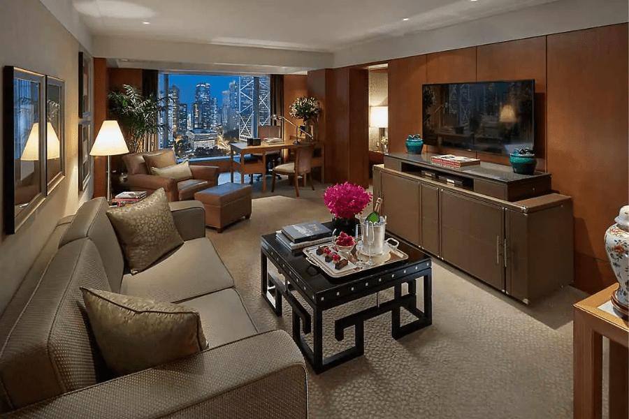 香港文華東方酒店 - 皇后像廣場景觀套房